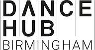 DanceHubBham_Logo_Landscape_Stacked_BLK_