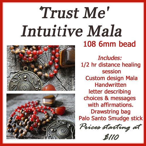 108 bead 6mm 'Trust Me' Intuitive Mala