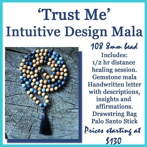Intuitive Design 108 bead Mala 8mm