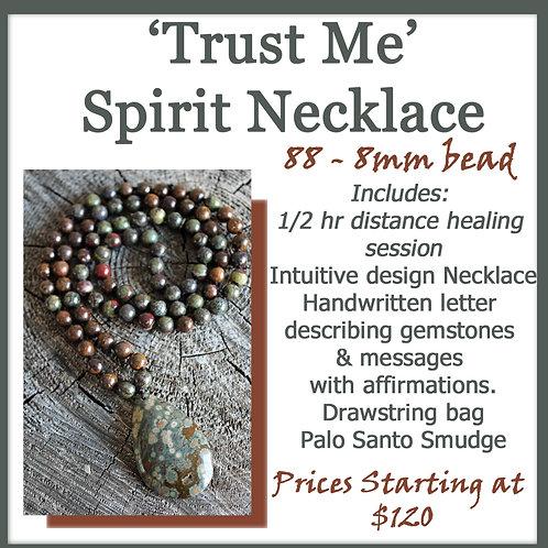88 bead Spirit Necklace - Intuitive Design