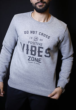 High quality pltoan VIBES mens sweater