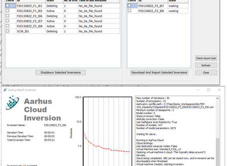 Release of Aarhus Workbench 6.3 Cloud inversion, new inversion setup, GIS interface update and much