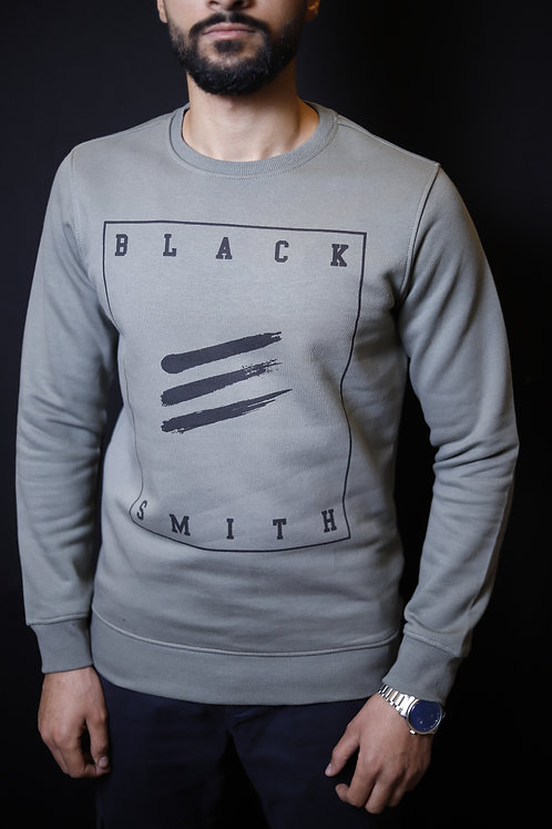 High quality pltoan BLACK SMITH mens sweater