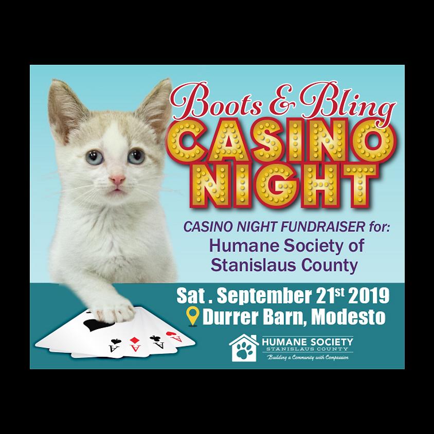 Boots & Bling Casino Night
