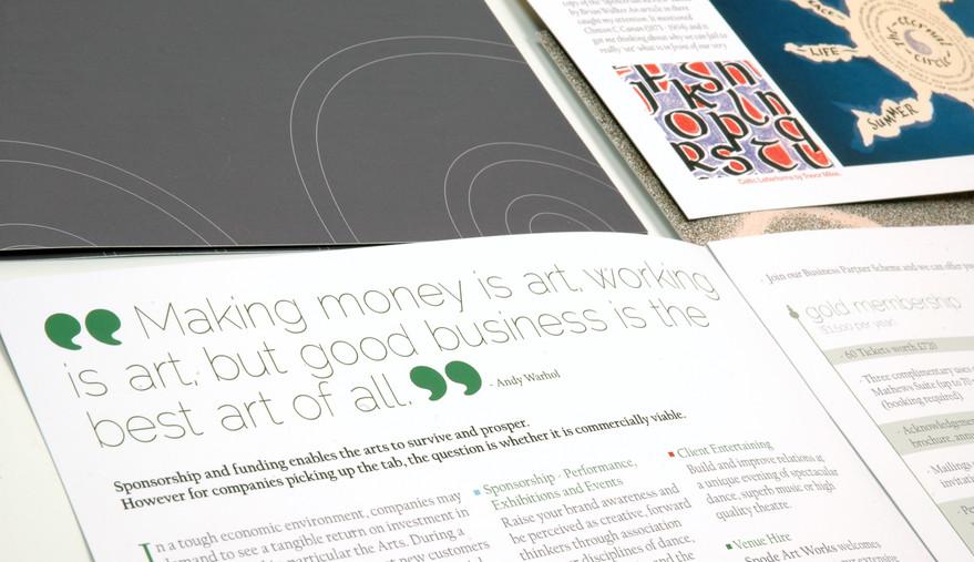 Spode Artworks Leaflet Inner