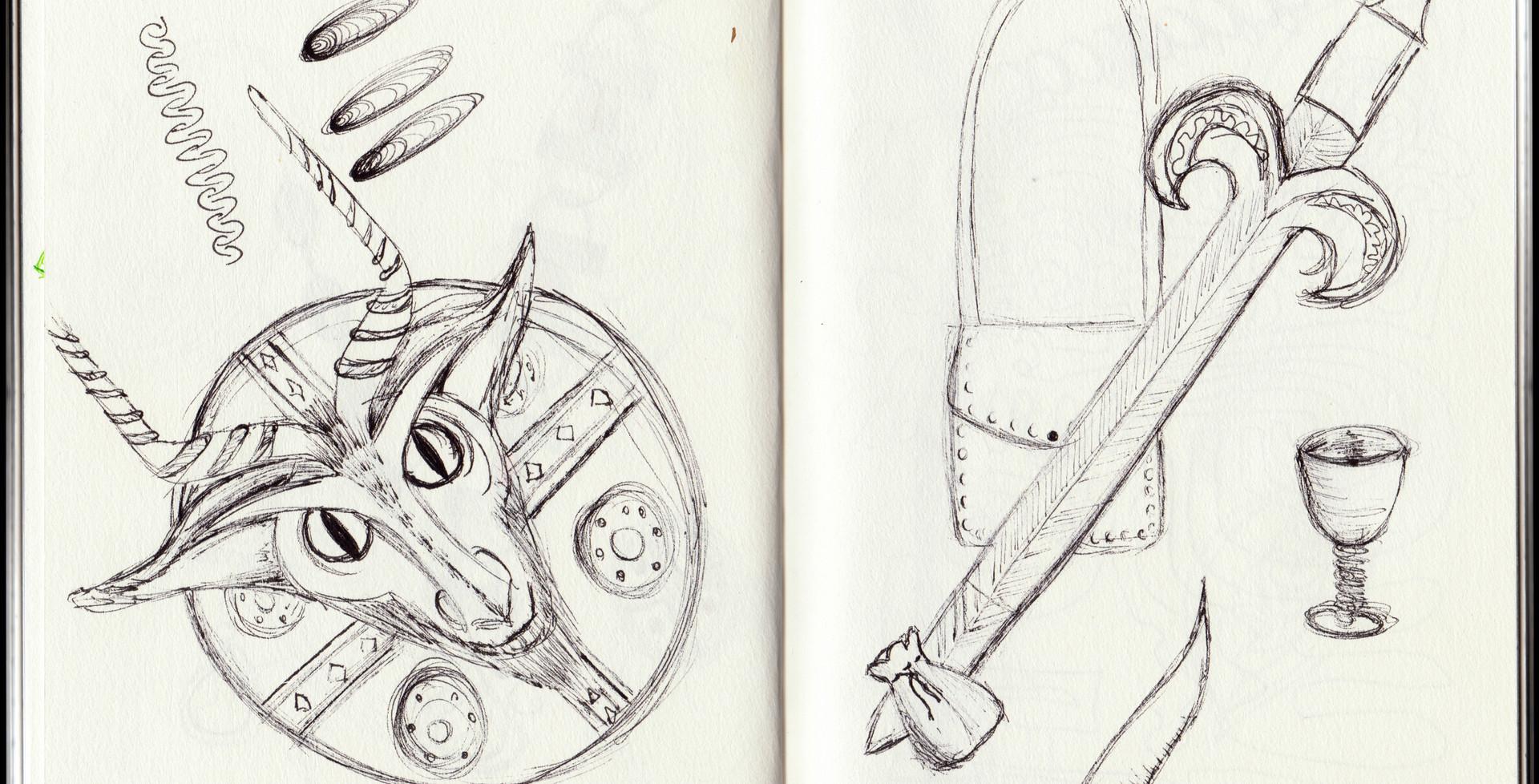 Sketchbook Page 3