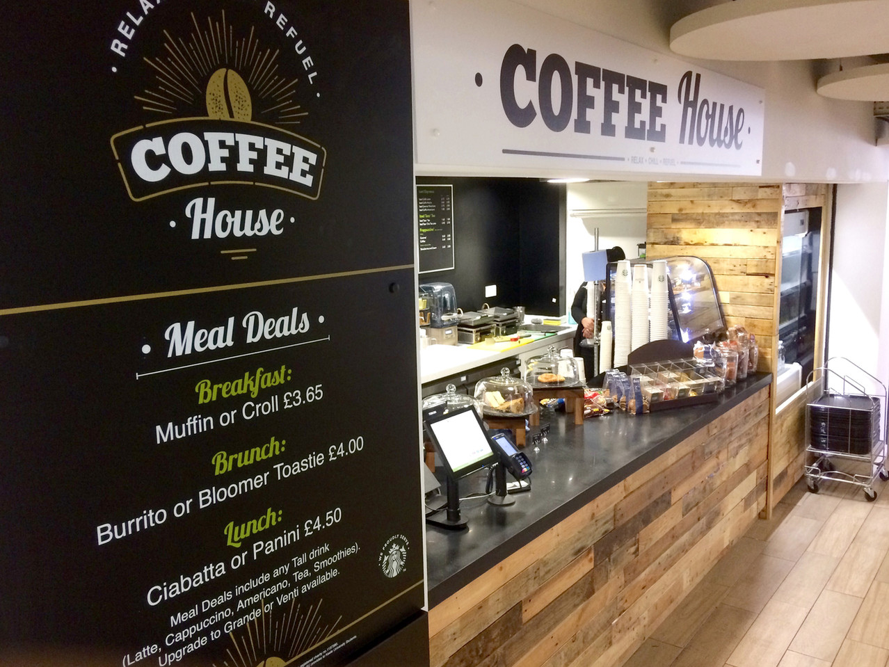 Coffee House Visual Identity - Menu & Signage