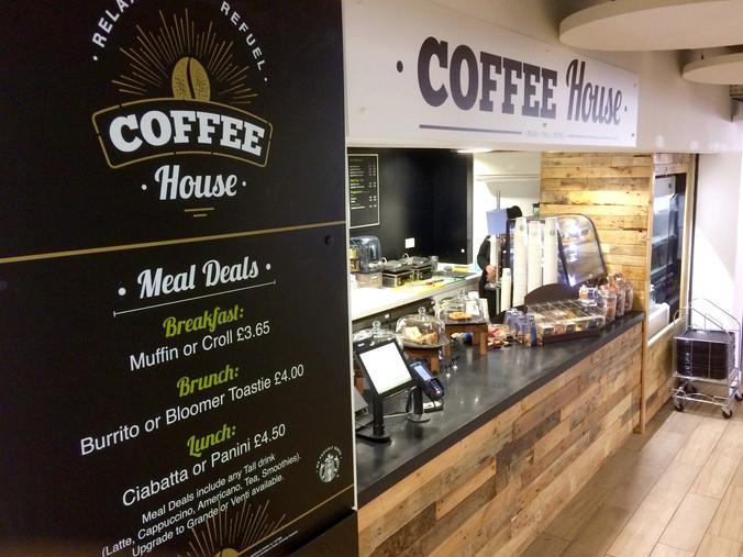 Coffee House Visual Identity - Menu & Signage