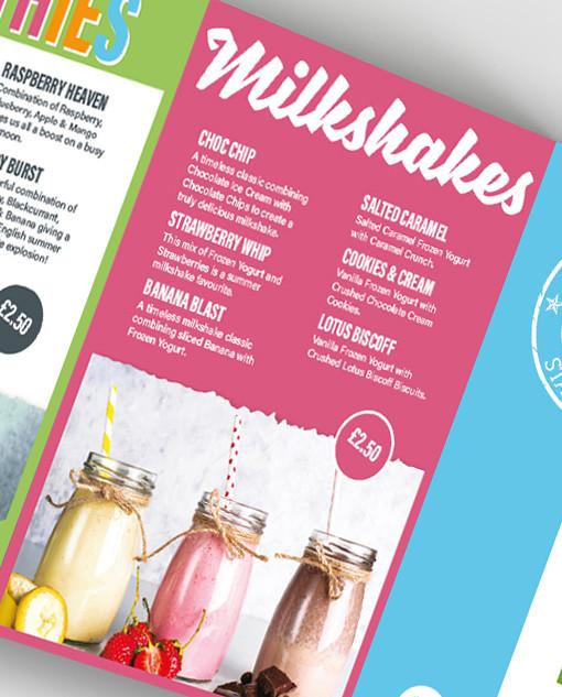 Union Kitchen - Sweet Temptation Conertina Leaflet: Inner Panel 2