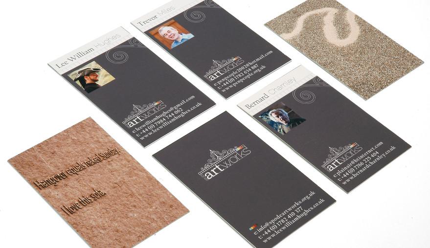 Spode Artworks Business Cards Side 2