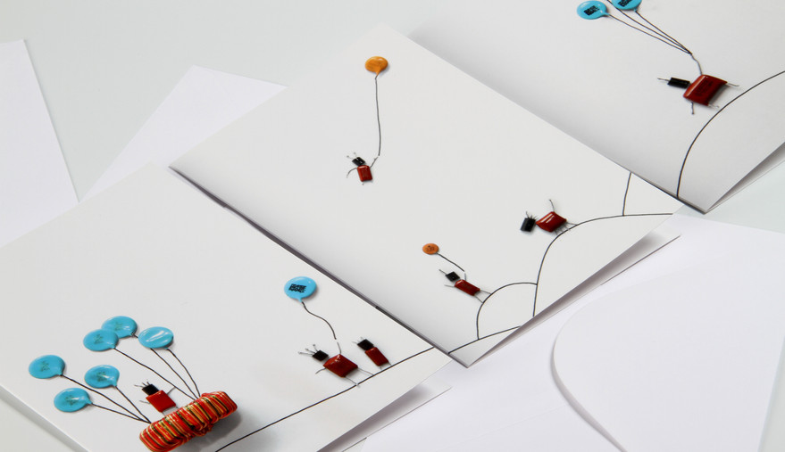 The Capacitor People - Greetings Card Collection