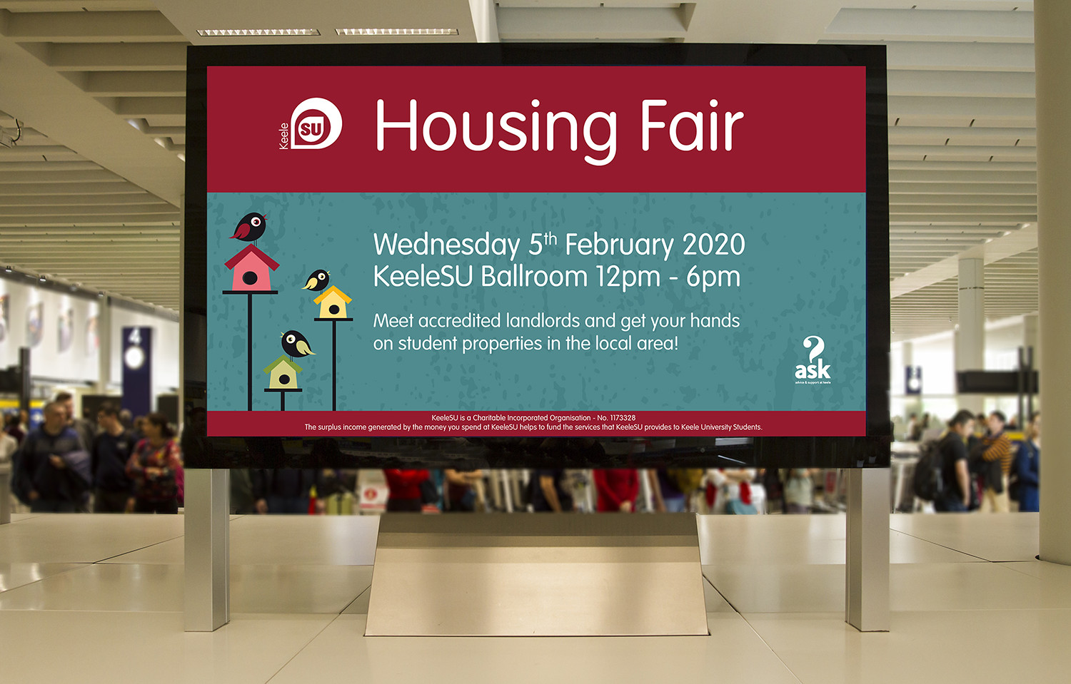 Housing Fair TV Screen