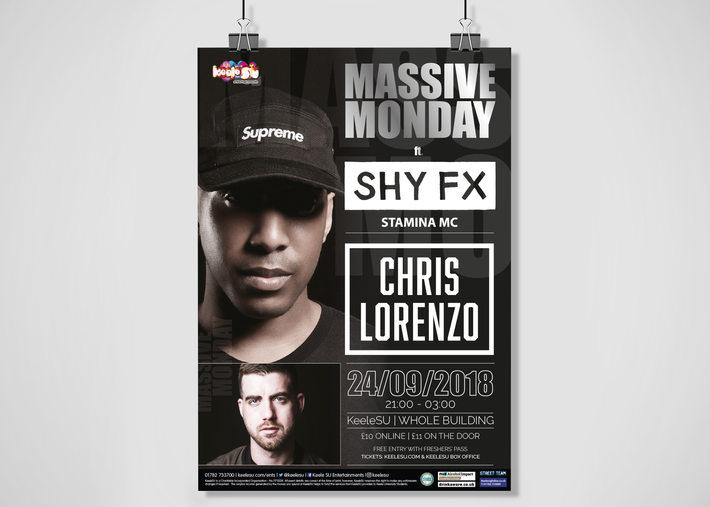 Massive Monday Poster
