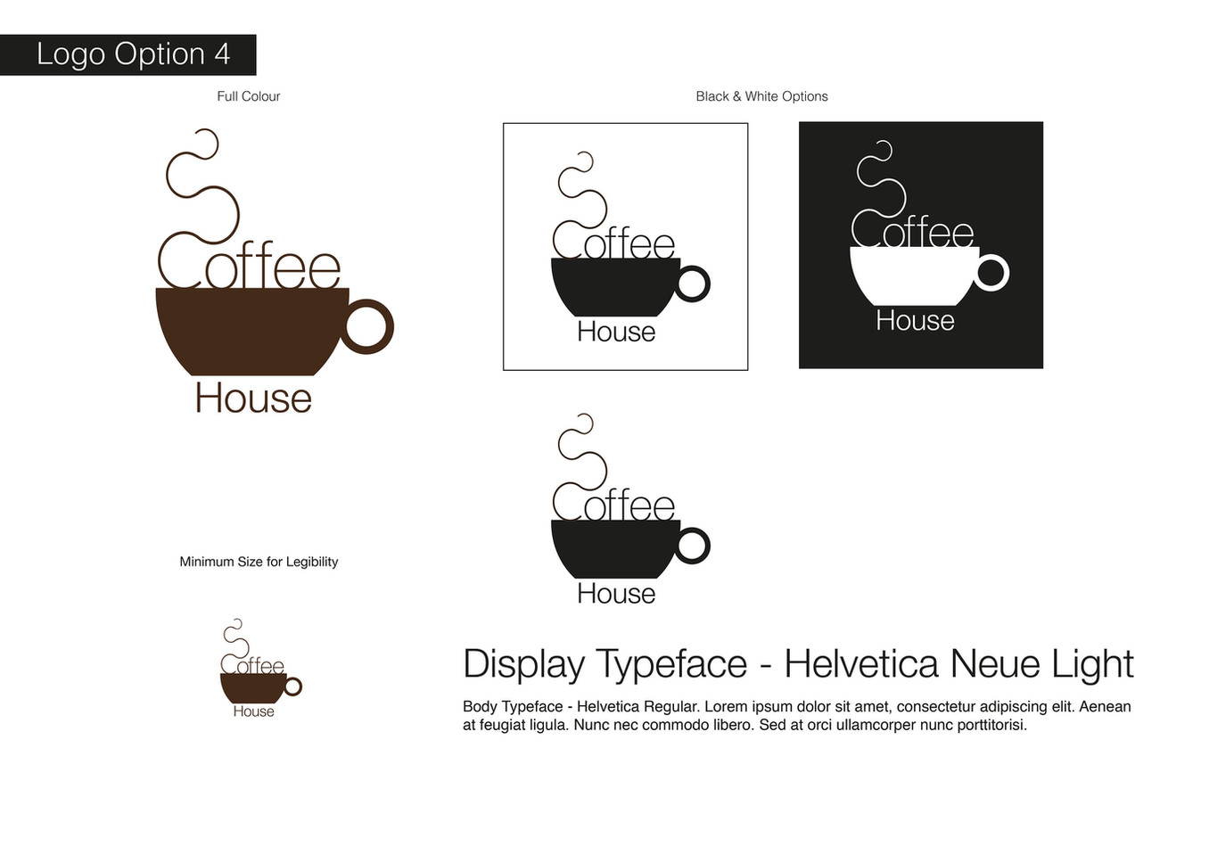 Coffee House Visual Identity - Development 4