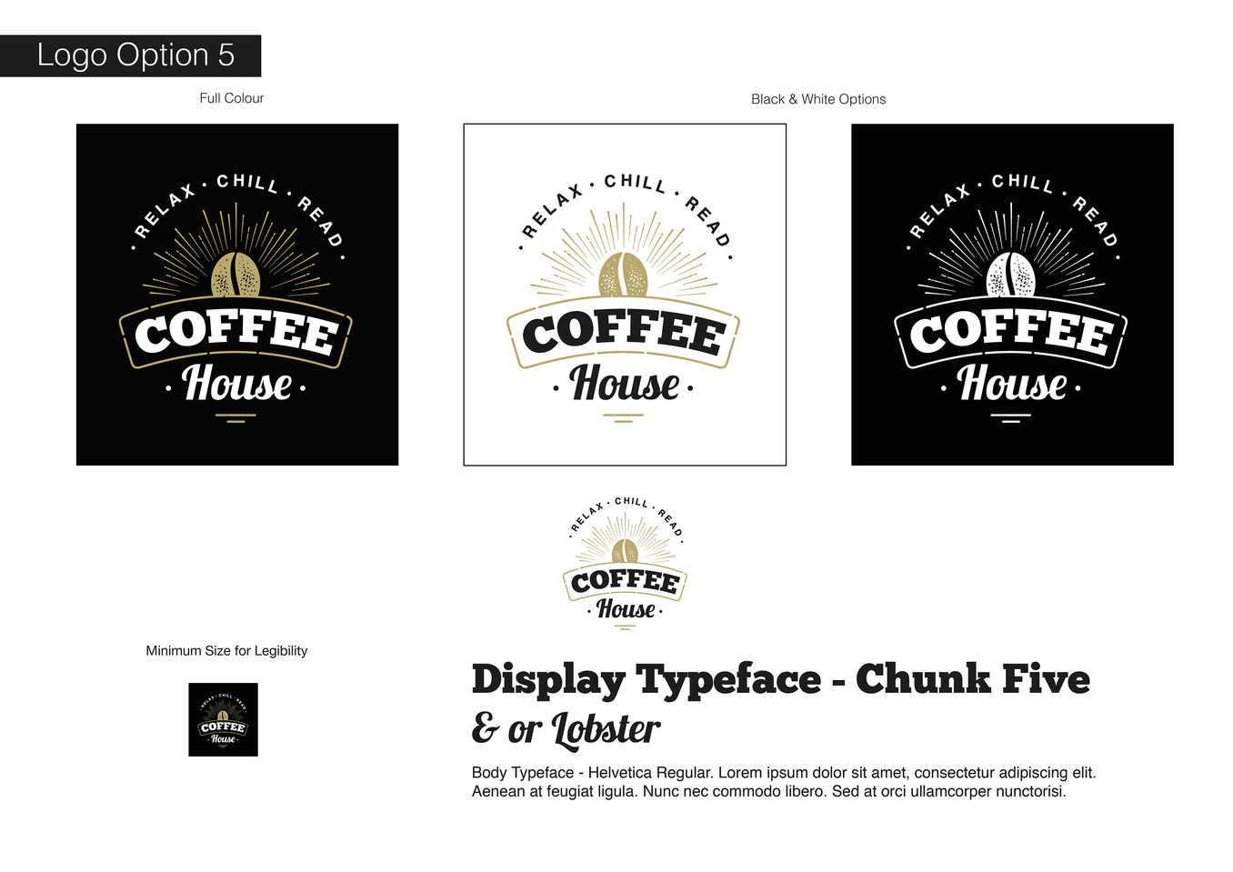 Coffee House Visual Identity - Development 5