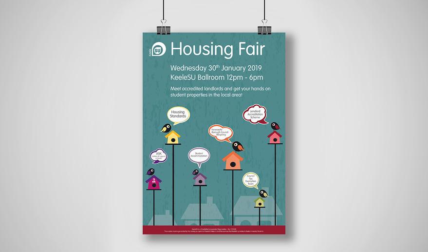 Site Ready A Series Poster Housing Fair.