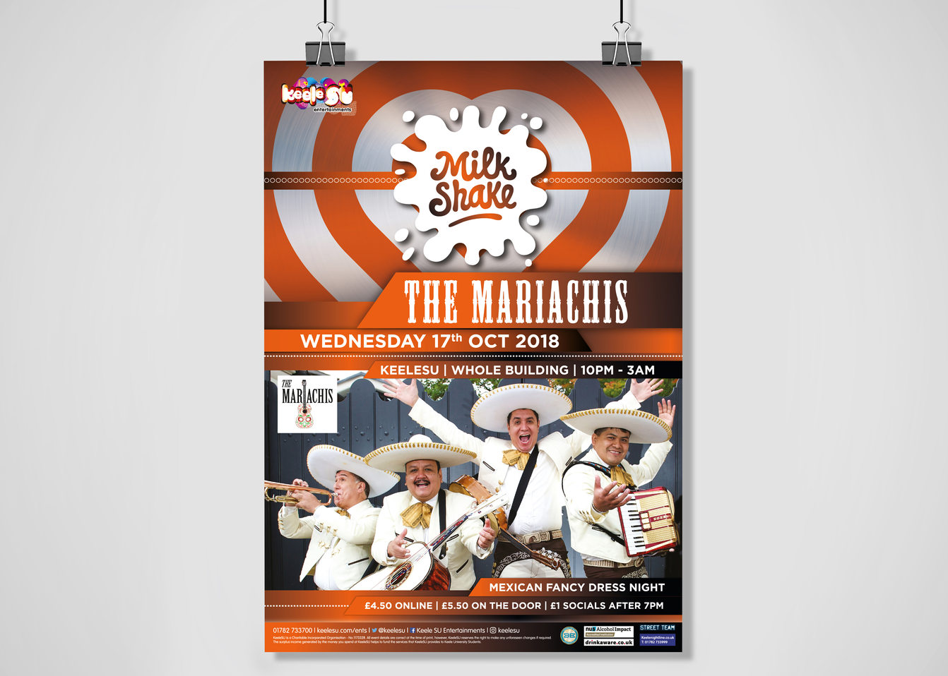 Milkshake Mariachi Poster