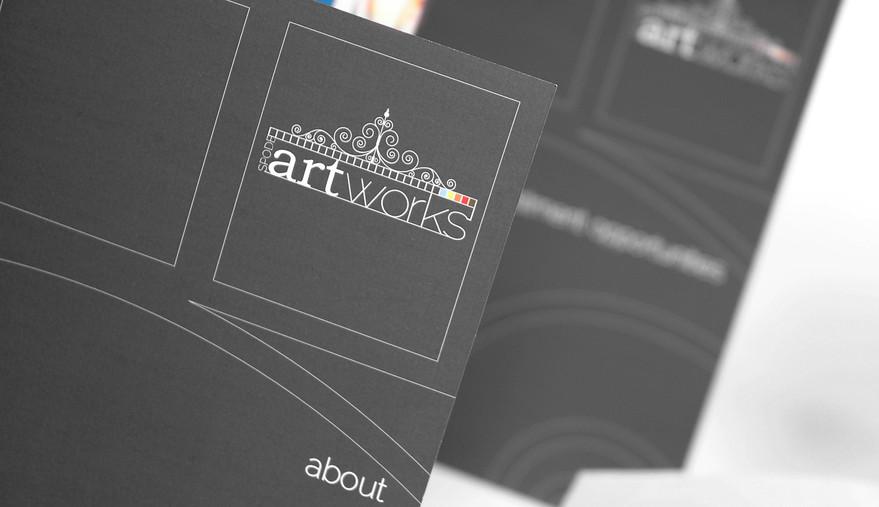 Spode Artworks Leaflet Close up