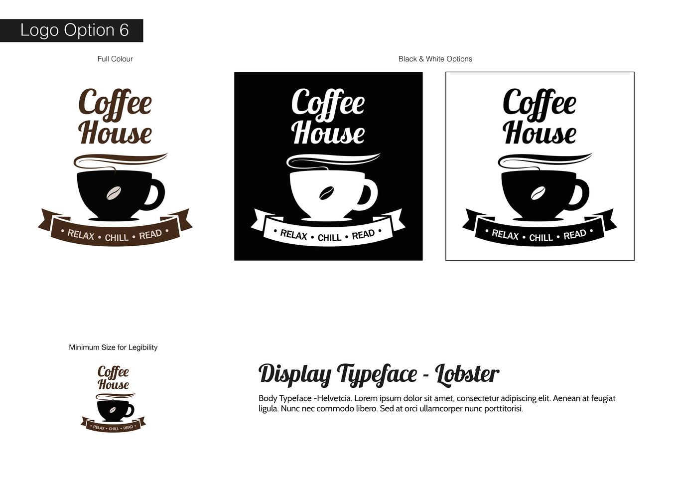 Coffee House Visual Identity - Development 6