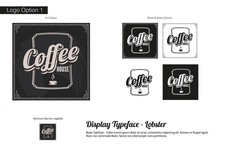 Coffee House Visual Identity - Development 1