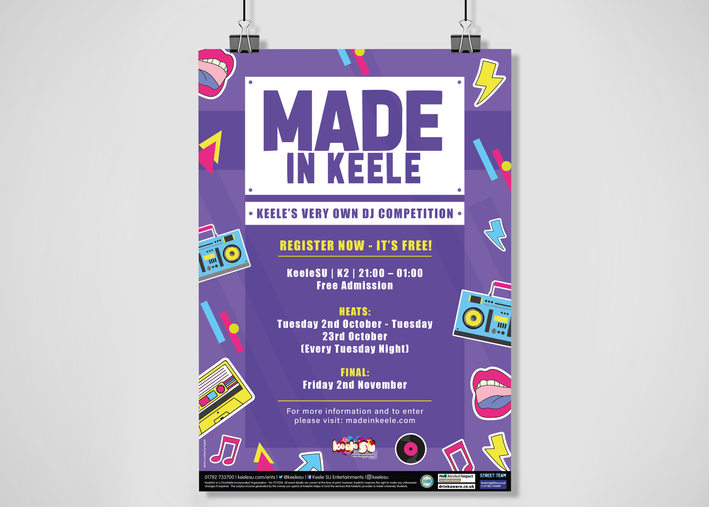 Made In Keele Poster