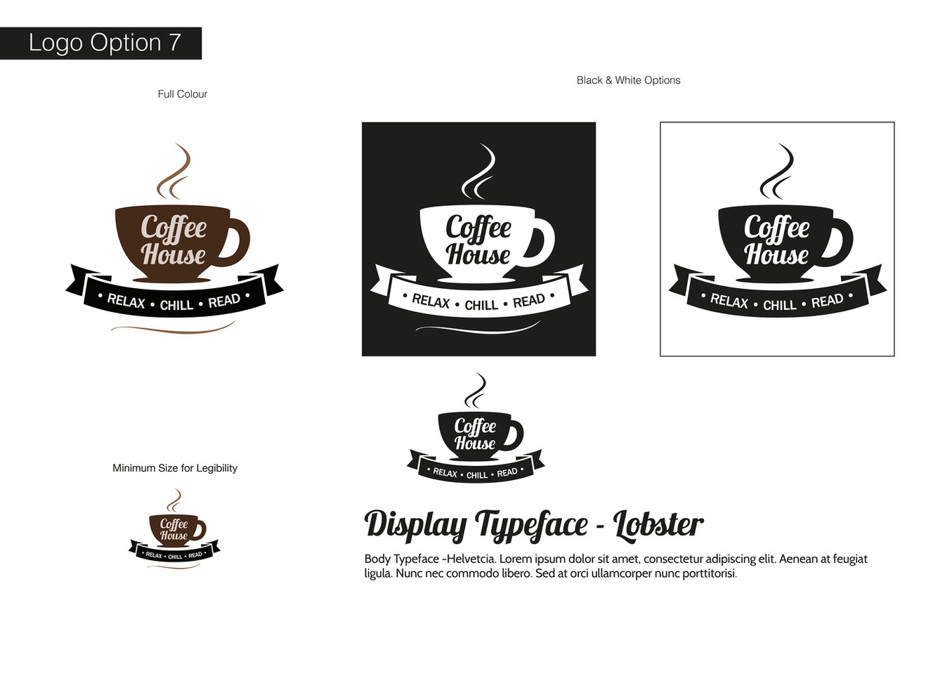 Coffee House Visual Identity - Development 7