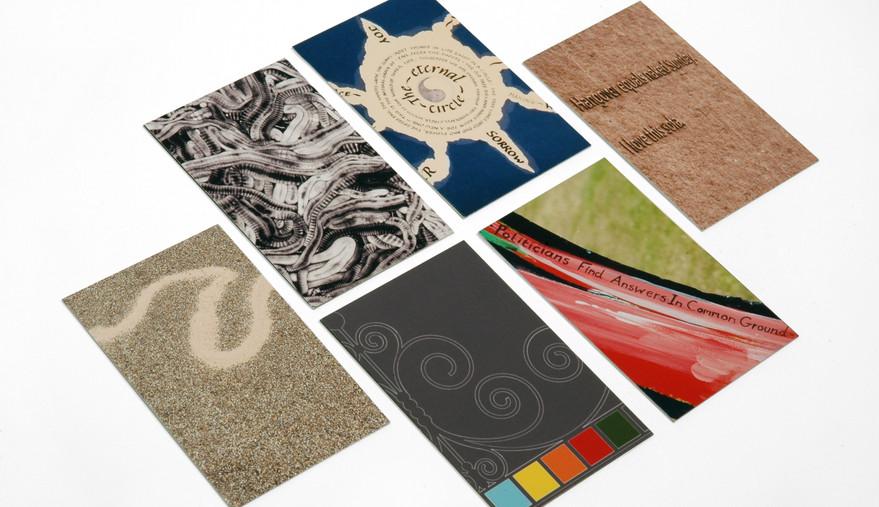 Spode Artworks Business Cards Side 1