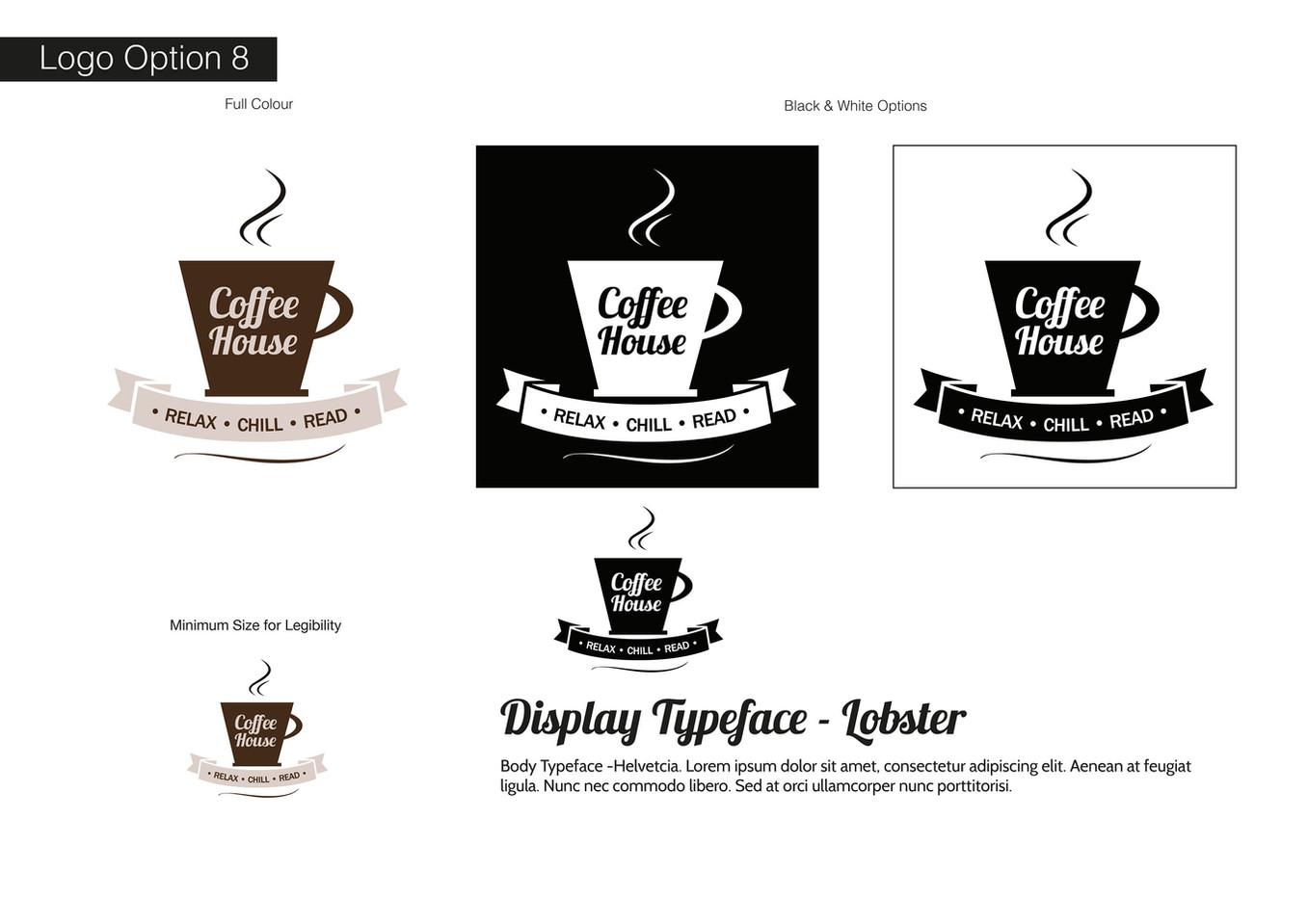 Coffee House Visual Identity - Development 8
