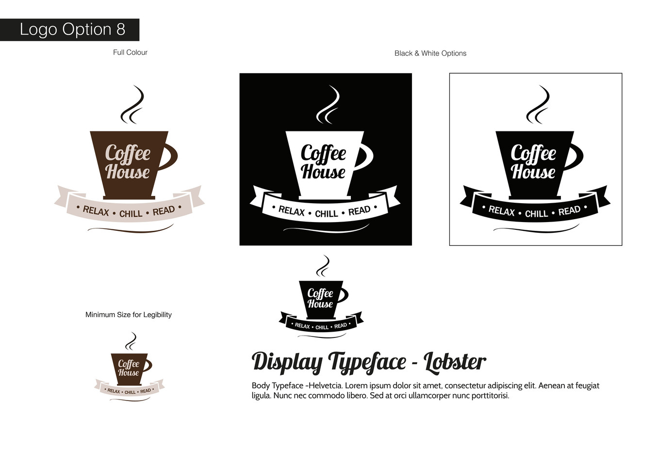 Coffee House Visual Identity - Development 8