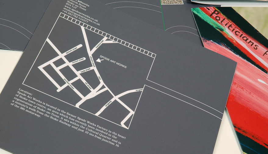 Spode Artworks Map