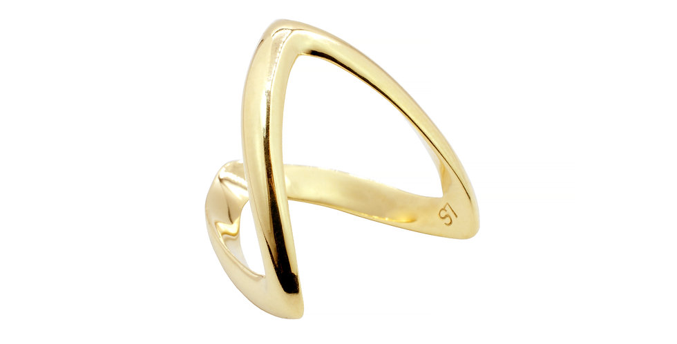 Anel Hope ouro 18k Amarelo