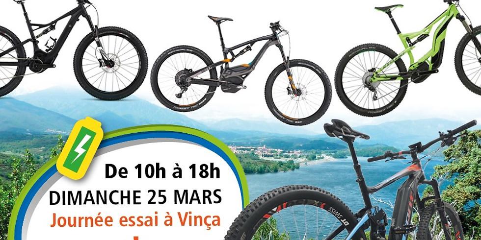 Journée Test Vélos à assistance électrique