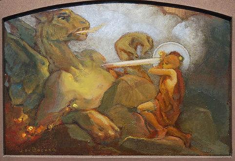 """""""Siegfried et le dragon"""""""