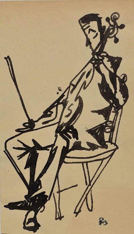 """Resting Violin #1"""