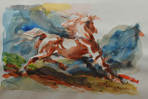 """Mountain Gallop"""
