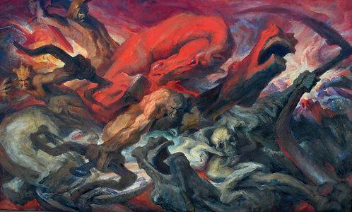 """The Four Horsemen of the Apocalypse"""