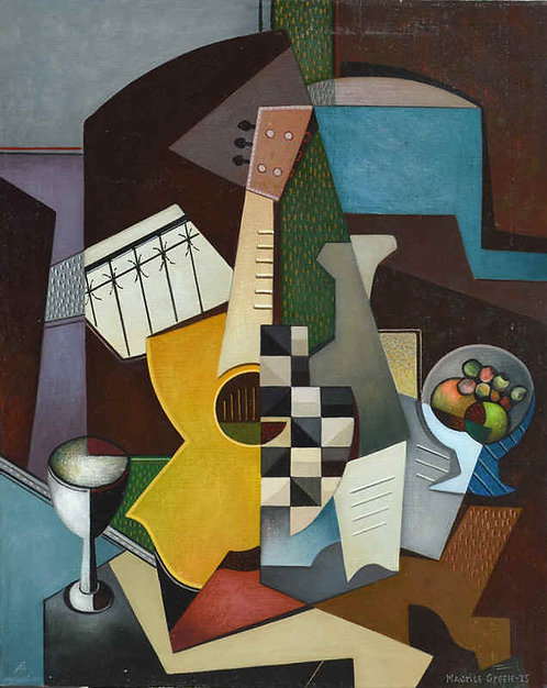 """Guitar and a Game of Chess"""