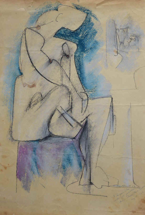 """""""Cubist Nude"""""""