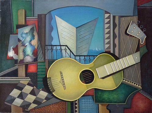 """Yellow Studio Guitar"""