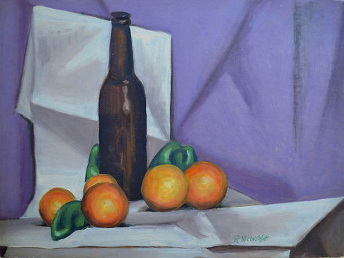 """Oranges and Bottle"""