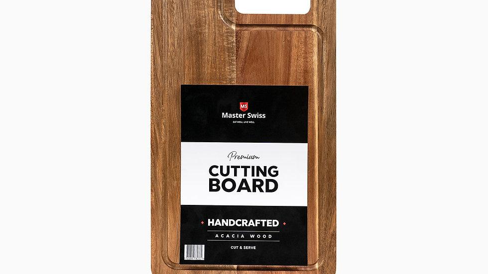 Tabla de cortar en madera de Acacia