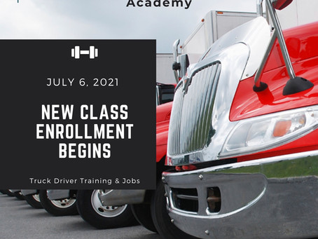 New Classes Starting July 6