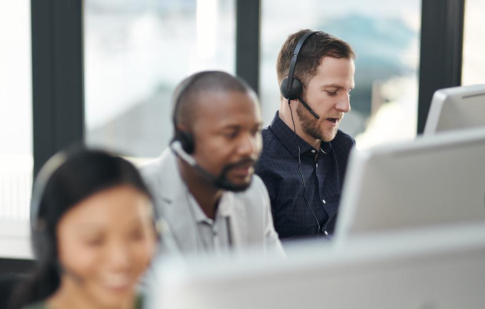 Popisek obrázku: Cloudová kontaktní centra představují efektivní nástroj digitální transformace.