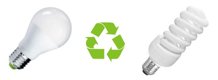 Všechny typy vysloužilých úsporných žárovek patří do speciální sběrné nádoby. Spotřebitelé totiž těžko poznají, jestli obsahují toxickou rtuť či nikoli.