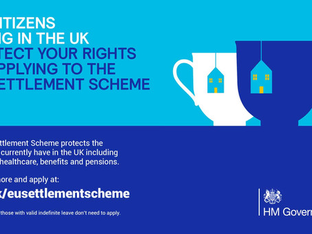 Have you applied to the EU Settlement Scheme?