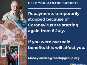Repayments Restart