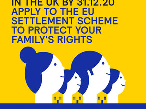 EU Citizens Must Apply for Settled Status to Protect Your Housing Rights