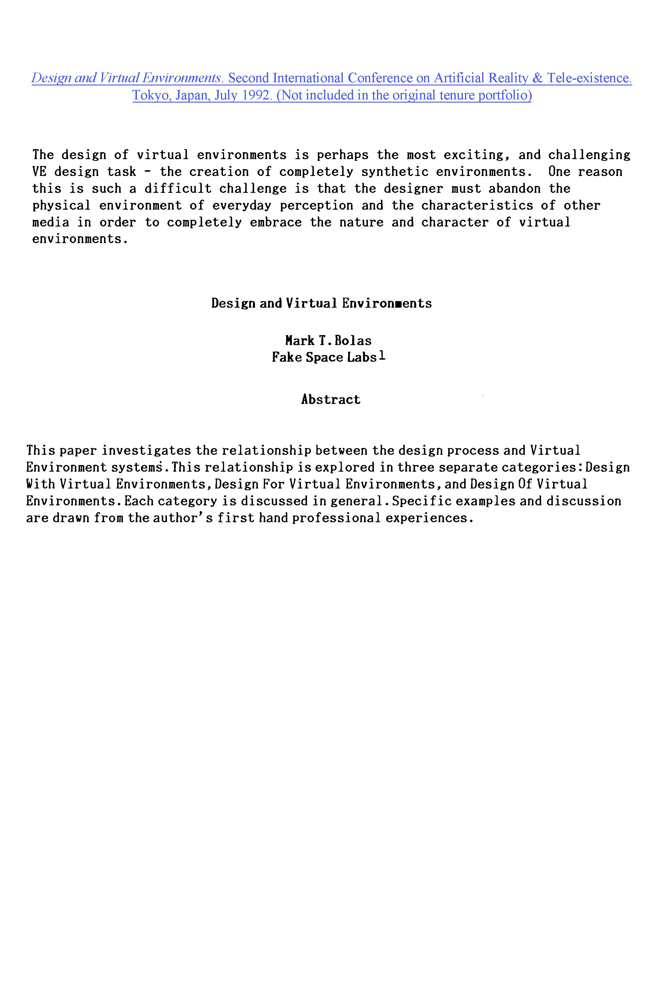 1992.01- Design and Virtual Environments_TOP SHEET.png