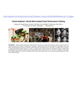 2015.08- Virtual Headcam Pan_tilt Mirror-based Facial Performance Tracking_TOP SHEET.png