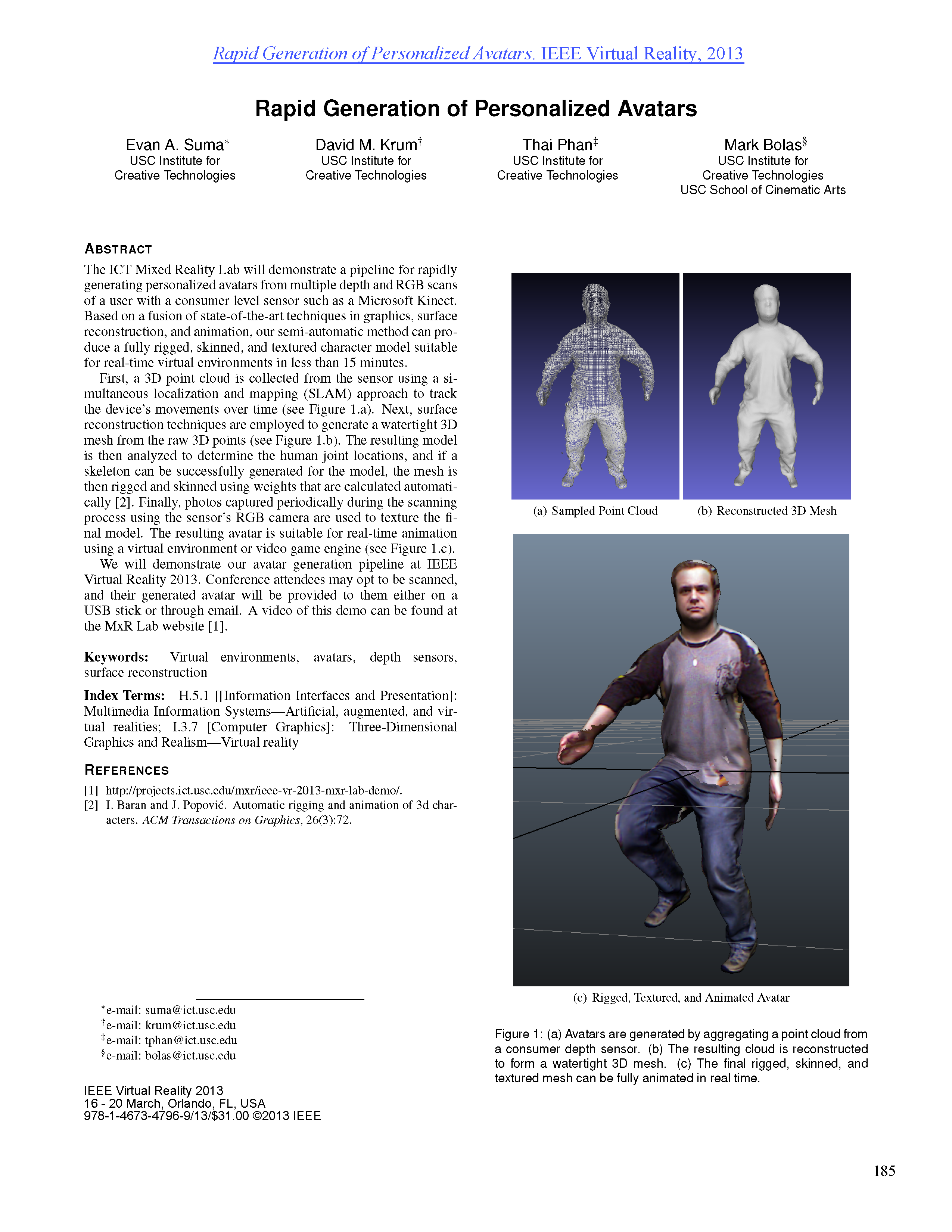 2013- Rapid Generation of Personalized Avatars_demo_TOP SHEET.png